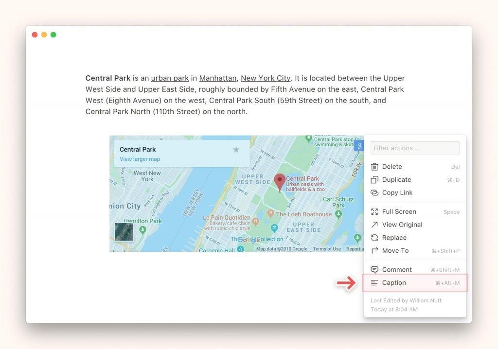 Incrustar contenido Notion de google drive