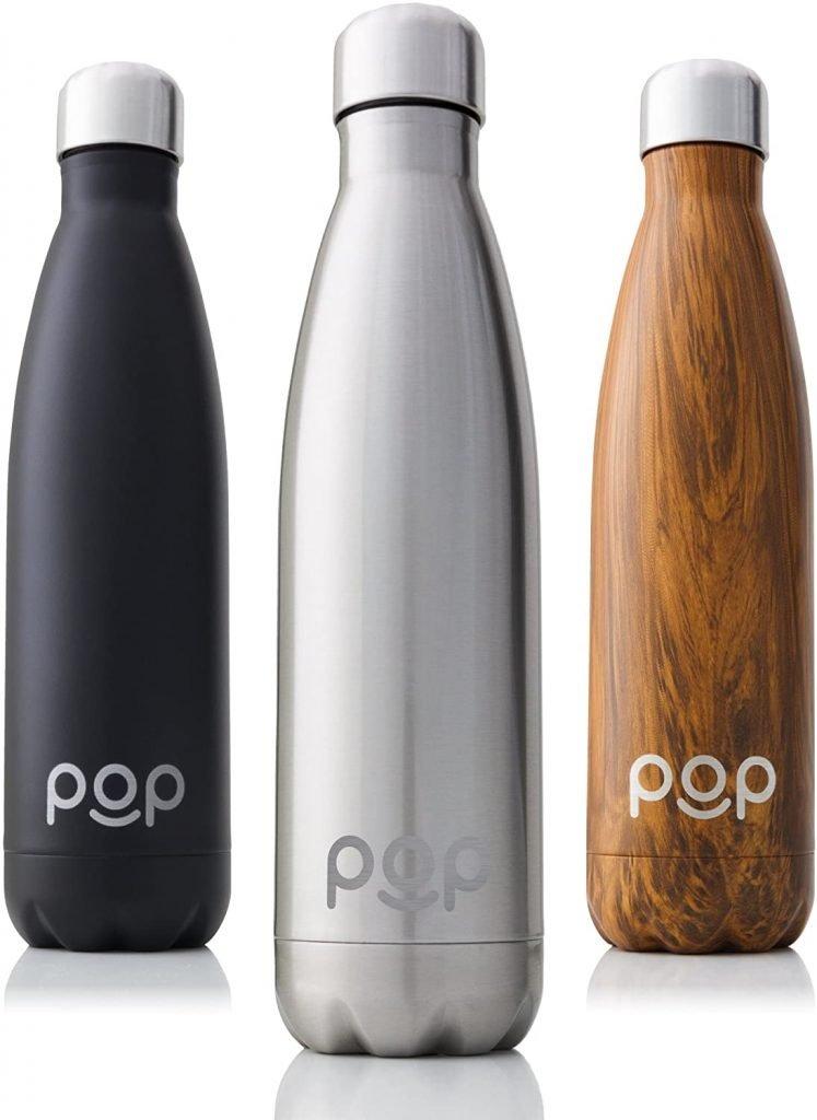 botellas de agua cómo configurar tu espacio de trabajo en casa